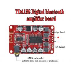 Yda138 Amplificador Audio Bluetooth 2,0 Clase D 2x15w  9-14v 4-8 Ohms Itytarg