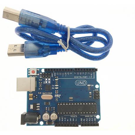 Uno R3 Atmega328p Dip Con Cable Arduino Comp. Itytarg