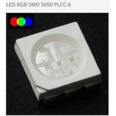 10 X Led Rgb 5050 Smd Plcc6 6 Pines 3 Leds Arduino Itytarg