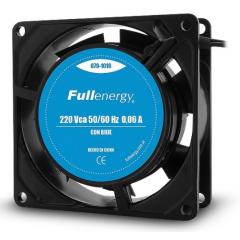 Cooler Fan Ventilador 220v 80x80x25mm 0.06a Con Buje Itytarg