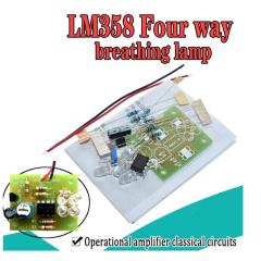 Diy Lm358 Kit Respiracion Electronica A Leds Para Armar  Itytarg