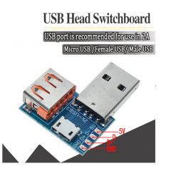 Adaptador Usb Switchboard Micro Usb A Macho Hembra Itytarg