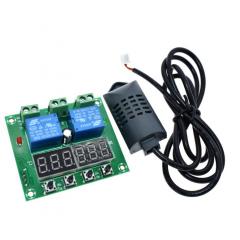 Termostato Control Temperatura Y Humedad 12v Display Led Itytarg