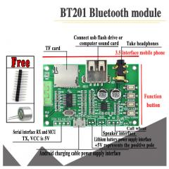 Bt201 Dual Mode 5,0 Bluetooth Audio Amplificador Tf Tarjeta U Disk Itytarg