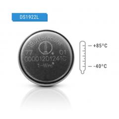 Ibutton Ds1922 L Temperatura Logger 8kb -40ºc +85ºc Itytarg