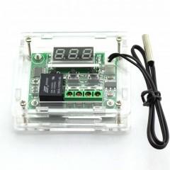W1209 Control Temperatura Termostato 12v 100º Con Gabinete Itytarg