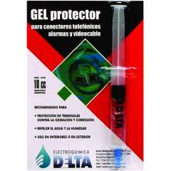 Gel Protector Terminales Contra Oxidacion Y Corrosion Repele Humedad Uso Int/ext Jeringa 10cc  Gelp  Itytarg