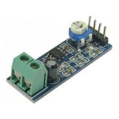 Placa Amplificador Audio Lm386 5-12v 4-8 Ohms  Itytarg
