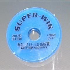 Malla Desoldante Cobre 3,5mm X 1,5 Metros Itytarg