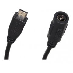 Cable Usb Micro 5v A Jack Dc 3.5mm 15cm Para Alimentacion Itytarg