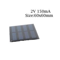 Panel Solar 2v 150ma 300mw Cnc60x60-2 6x6cm Itytarg