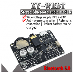 Xy-wrbt Receptor Bluetooth 5.0 Stereo 3.7v A 24v Jack 3.5 Audio  Itytarg