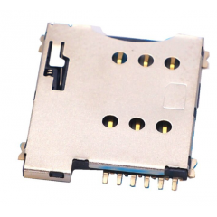Micro Sim Socket Smd 6pin Plastico Modem Gprs 2g 3g 4g Itytarg