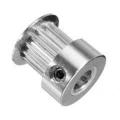 Polea Dentada P36-gt2-6-bf 20t 5mm - Diam: 16mm / 12mm - Alto 16mm Robotica 3d Cnc  Itytarg