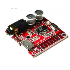Modulo Recepción Bluetooth  5.0  Mp3  Jack 3.5 Mm Usb 5v Placa Roja  Itytarg
