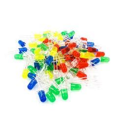 Pack 30 Leds 5mm Rojos Amarillos Verdes Arduino Itytarg