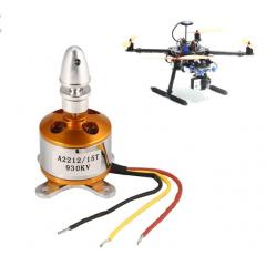 Kit Motor Brushless  Bldc A2212/15t 930kv Sin Escobillas Drone Itytarg
