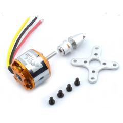 Kit Motor Brushless  Bldc A2212/11t 1200kv Sin Escobillas Drone Itytarg