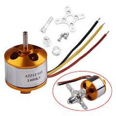 Kit Motor Brushless  Bldc A2212/10t 1400kv Sin Escobillas Drone  Itytarg