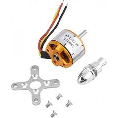 Kit Motor Brushless Bldc  A2212/5t 2700kv Sin Escobillas Drone Itytarg