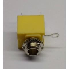 Lote 5 X Conector Ej-3501 Jack Mono Audio  Chasis C/ Tuerca Itytarg