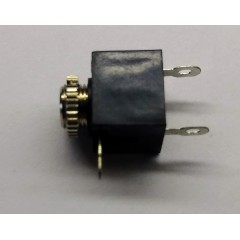 Lote 5 X Conector Jack Audio 3.5mm Stereo A Chasis Con Tuerca Tipo Lj0350a  Itytarg