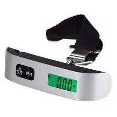 Balanza Digital De Mano Peso 10g A 50kg + Pila / Incluye Medicion Temperatura  Itytarg