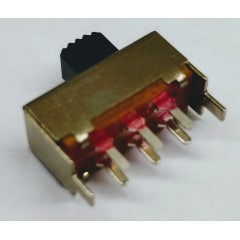 Lote 5 X Llave Deslizante 3 Pines 2p2t Pcb Ss-22f07  Slide Switch 17x9x7mm Itytarg