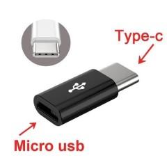 Adaptador Micro Usb Hembra A Usb Tipo C Macho Itytarg