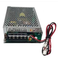 Fuente Ups Switching Metalica Alimentacion  220v / 24v 5a C/cables Bateria Gel Itytarg