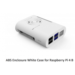 Kit Gabinete Abs Blanco Raspberry Pi 4b +  Cooler + Disipadores X 4  Itytarg