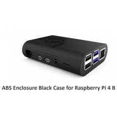 Kit Gabinete Abs Negro Raspberry Pi 4b +  Cooler + Disipadores X 4  Itytarg