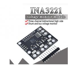 Sensor Corriente Shunt 3ch Ina3221 Smbus I2c  Itytarg