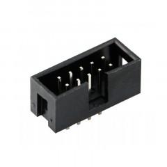 Lote 10 X Conector Idc-10 Hembra Recto Pcb Itytarg