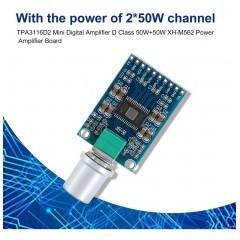 Xh-m562 Amplificador Audio 12v-24v 2x50w Tpa3116d2  Itytarg
