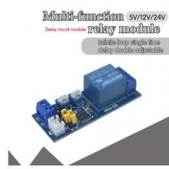 12v Modulo Rele Temporizador Multifuncion Timer Delay Itytarg