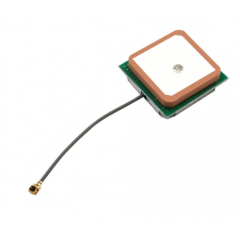 Antena Gps Activa 28db Cable 5cm U.fl 28db 25x25x8mm  Itytarg