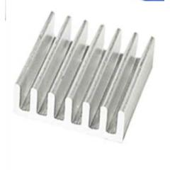 Lote 2 X Disipador De Calor Aluminio 14x14x6mm Con Adhesivo P/driver  Itytarg