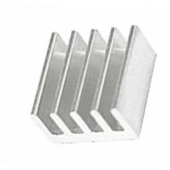 Lote 2 X Disipador De Calor Aluminio 9x9x4mm Con Adhesivo P/driver  Itytarg