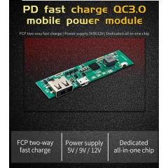 Modulo Power Bank Sw6106 Cargador Rapido Qc3.0  Itytarg