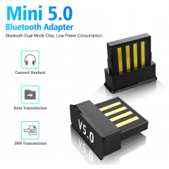 Dongle Usb Bluetooth Bt 5.0 Ble Itytarg