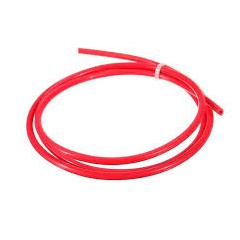 1 Metro Tubo Teflon Rojo Ptfe 4mm Externo 2mm Interno Impresora 3d 2x4mm Itytarg