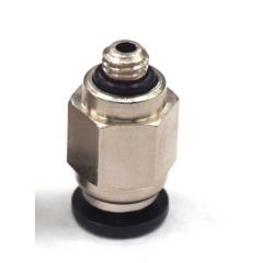Pc4-m5 Conector Neumatico Para Tubo De Teflon De 4mm Hot End  Impresora 3d  Itytarg