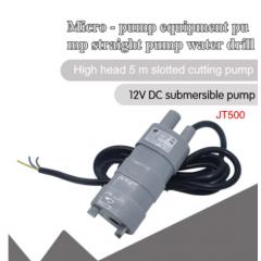 Jt500 Bomba Agua Solar Motor Sumergible 600l/h 12v Max 5m  Itytarg