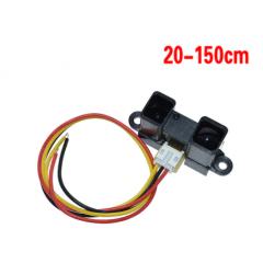 Sensor Distancia Infrarrojo Gp2y0a02yk0f 20 A 150cm Itytarg