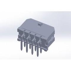 Lote 5 X Conector Microfit Macho Header 3mm 8 Pines 2x4 T/h Pcb 90 Grados Tipo Cp3508p Itytarg