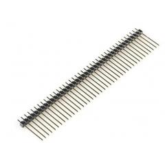 Lote 5 X Tira Pines Macho 1x40 Fracc Recto 2.54mm Largo 20mm Mh14018020 Itytarg