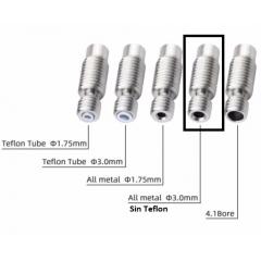 Garganta Tubo Barrel 22mm 3mm Sin Teflon Ptfe / Hotend Impresora 3d Itytarg