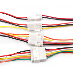 Juego Cables 4pin Xh2.54 Macho Y Hembra 20cm C/u Itytarg