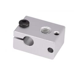 Bloque Calefactor Aluminio E3d V6 Impresora 3d 23x16x12mm Hotend Itytarg